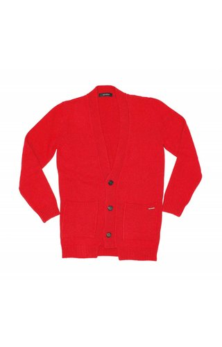 Gazzarrini Gazzarrini MI100G Cardigan Red