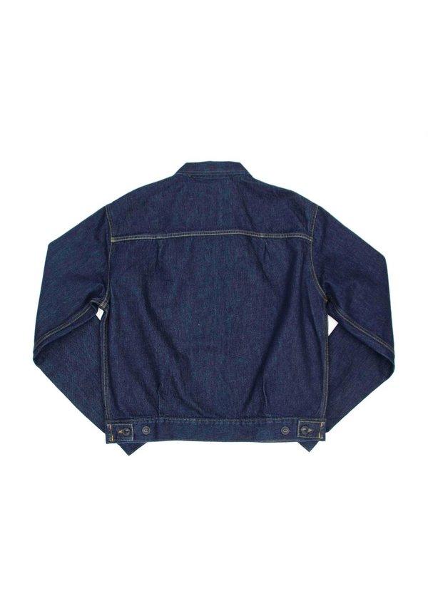 Tiger Of Sweden Ry Zip Denim Jacket Royal Blue