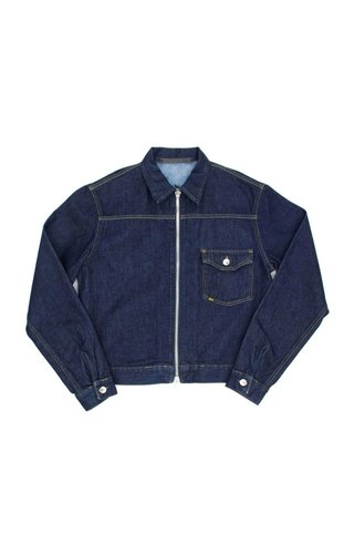 Tiger of Sweden Tiger Of Sweden Ry Zip Denim Jacket Royal Blue