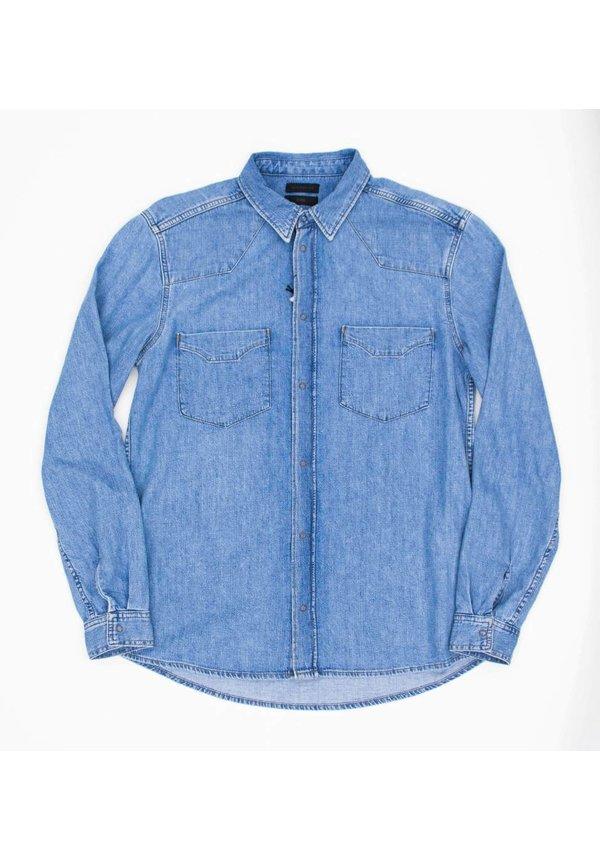 Pure Shirt Denim Royal Blue 25D