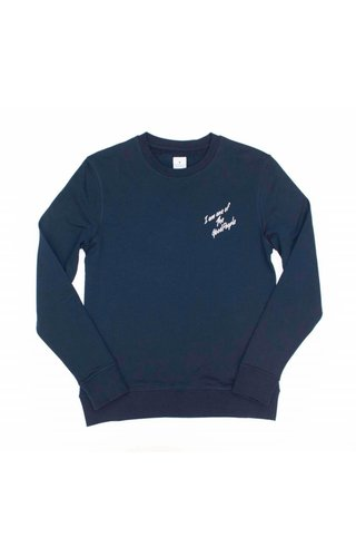 The Good People The Good People I Am Sweater Navy
