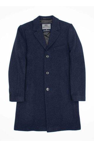 Brixtol Brixtol Ian Navy Wool Coat