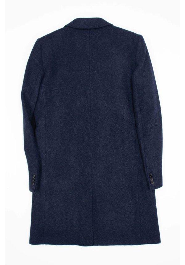 Brixtol Ian Navy Wool Coat