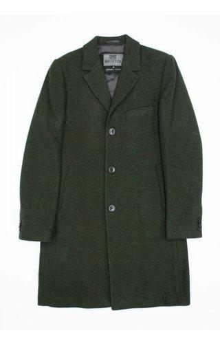 Brixtol Brixtol Ian Olive Wool Coat