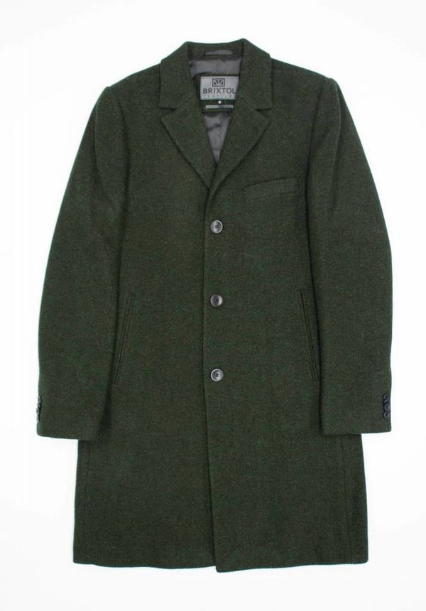 Brixtol Ian Olive Wool Coat
