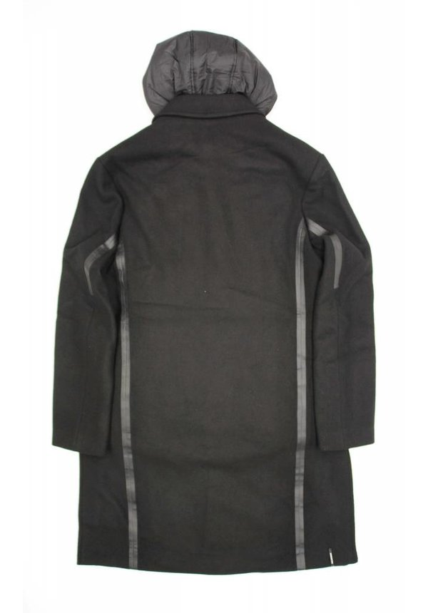 Krakatau Wool Coat Black 171/1
