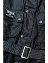 Shields Jacket DBWB Black