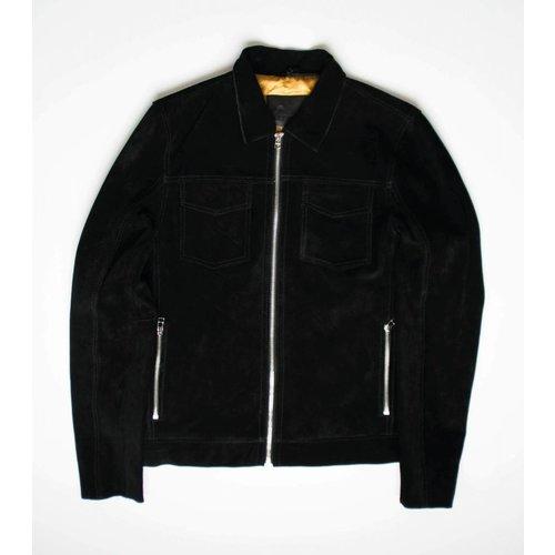Goosecraft Goosecraft Leather GC Andreas Jacket Suede Black