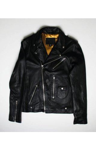 Goosecraft Goosecraft Leather GC Alex Perfecto Jacket JetBlack