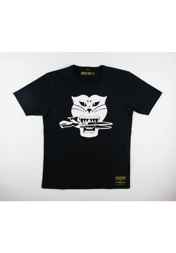 Black Cat Tee HCJ Shadow Black