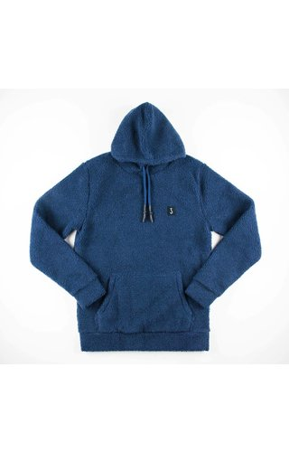Butcher Of Blue Butcher of Blue Teddy Hooded Sweat Alaska Blue