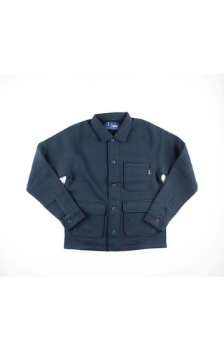 Butcher Of Blue Butcher of Blue Worker Overshirt Alaska Blue