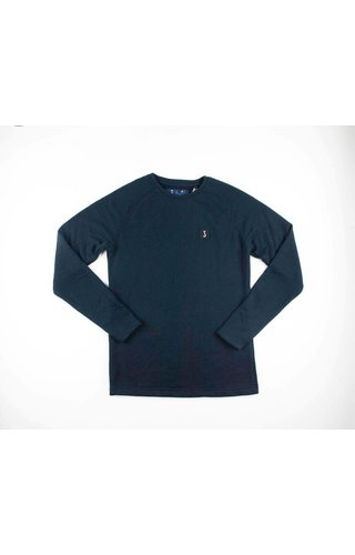 Butcher Of Blue Butcher of Blue Classic Raglan Sweat Alaska Blue