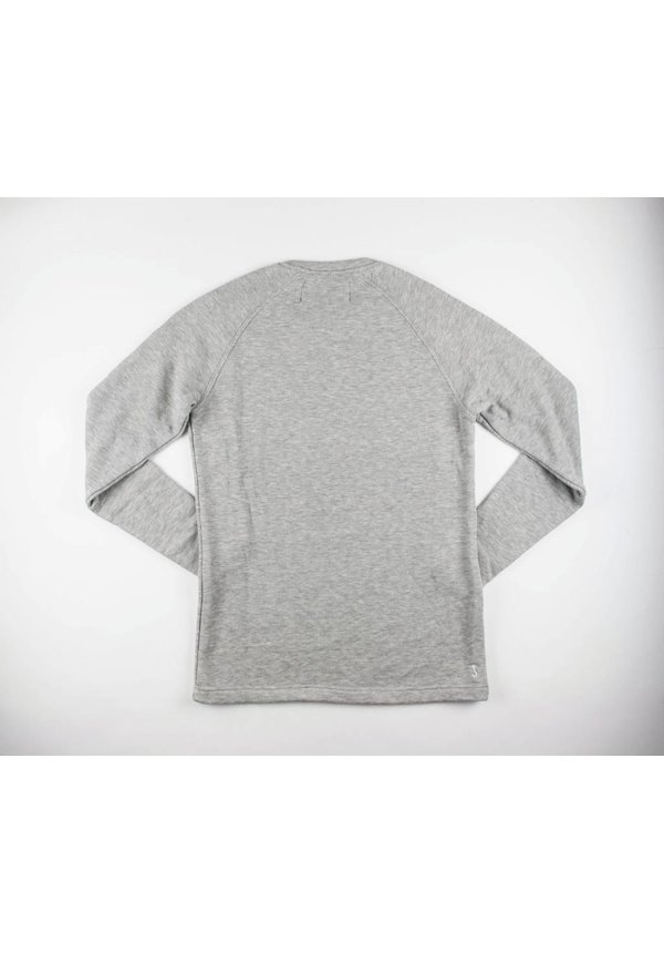 Butcher of Blue Classic Raglan Silver Metallic