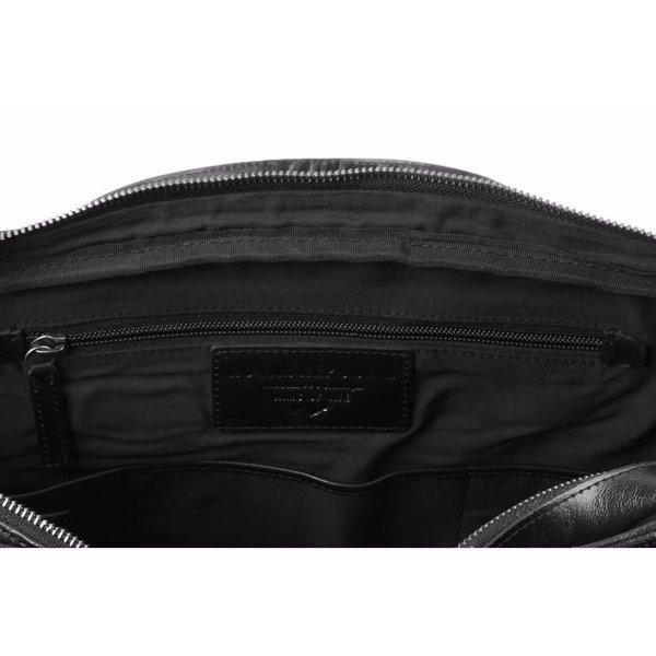 Explorer Laptop Bag Double Black