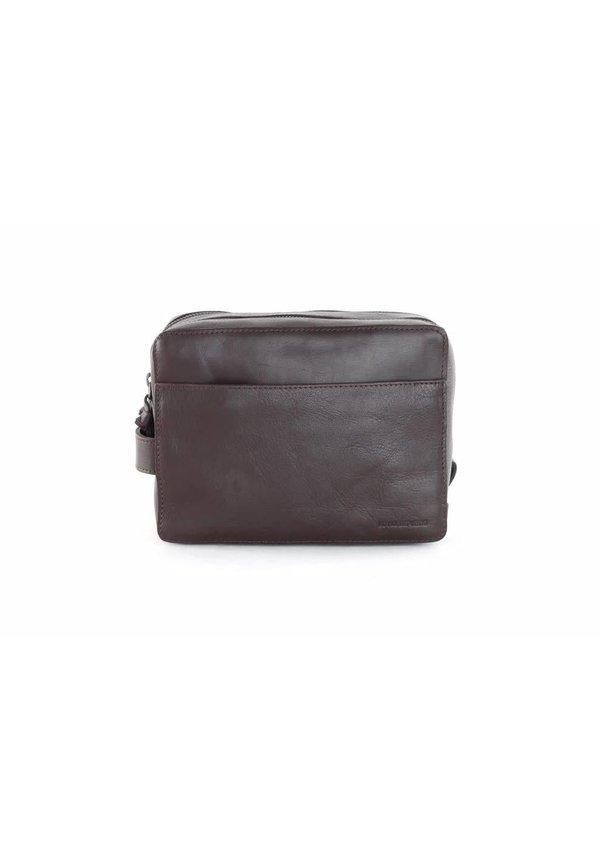 Explorer Toilet Bag Mini Brown