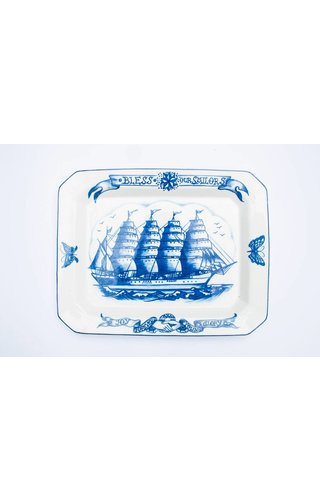By Mutti By Mutti Bless Our Sailors Big Platters 40CM