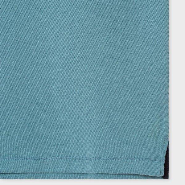 Paul Smith Ss Reg Fit Polo Shirt Blue