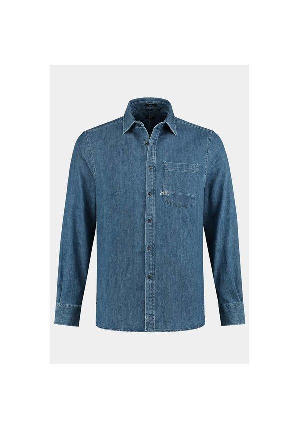 Denham Axel Shirt Cdsd Indigo