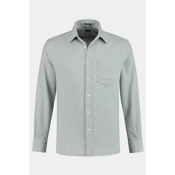 Denham Axel Shirt Cgsd Grey