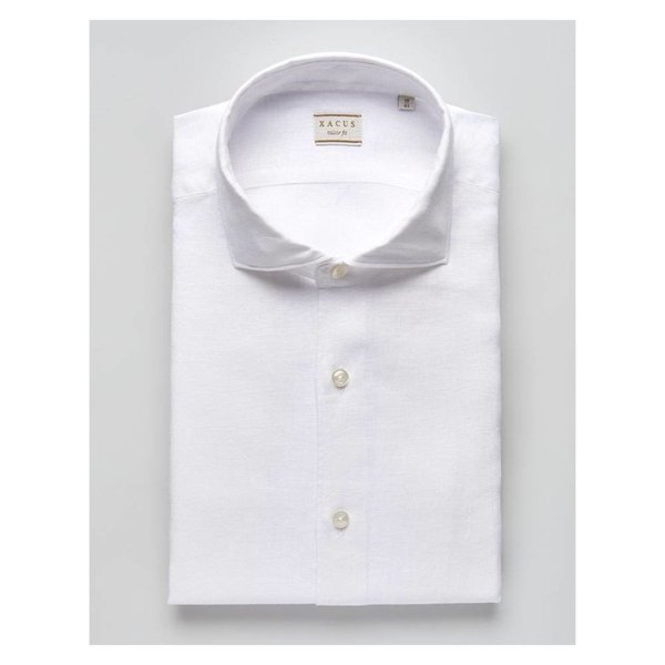 Casual & Sport Linen Shirt White