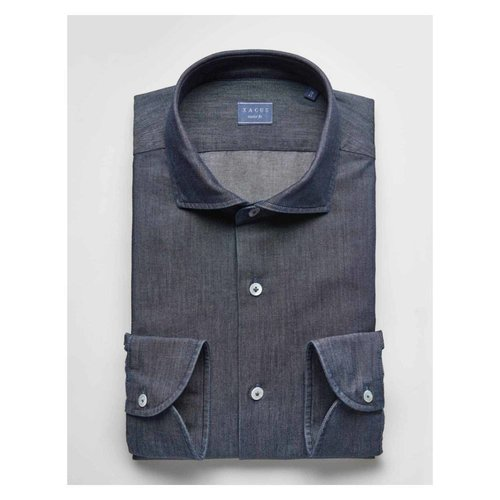 Xacus Xacus Casual & Sport Dark Denim Shirt 41136 003