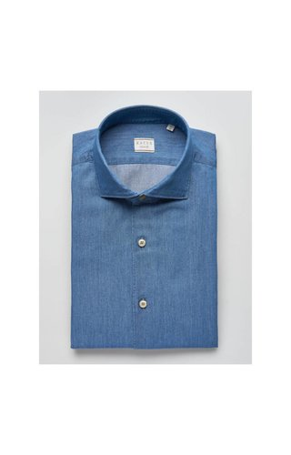 Xacus Xacus Casual & Sport Light Denim Shirt 41136 002