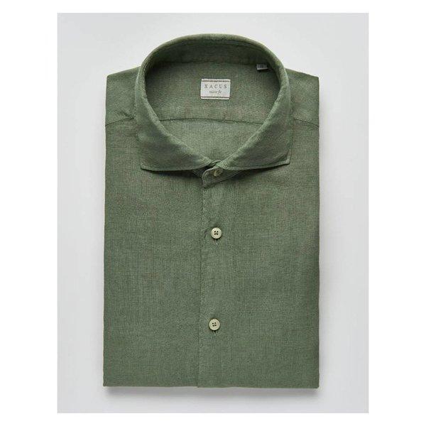 Casual & Sport Linen Shirt Olive