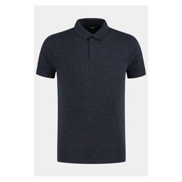 Denham Cadet Polo Lwbh Dress Blue