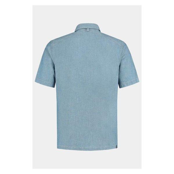 Denham Sherman Ss Shirt Hcb Indigo