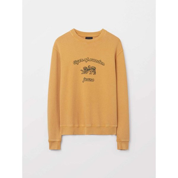 Tiger Of Sweden Tano O Sweater Mustard