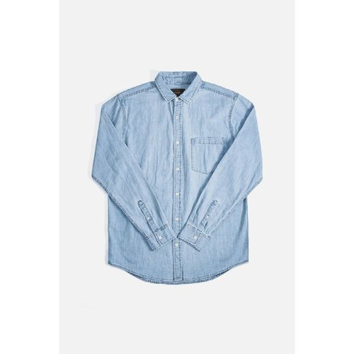 Neuw Neuw Waits Denim Shirt Washed Indigo 33211