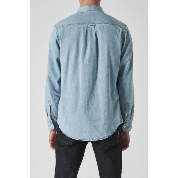 Neuw Waits Denim Shirt Washed Indigo 33211