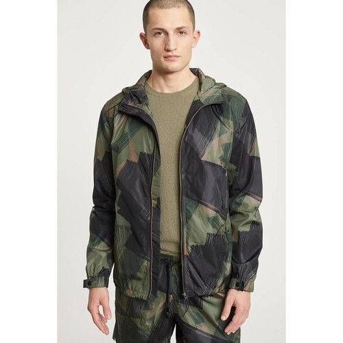 Closed Closed Hooded Jacket Camo Espresso