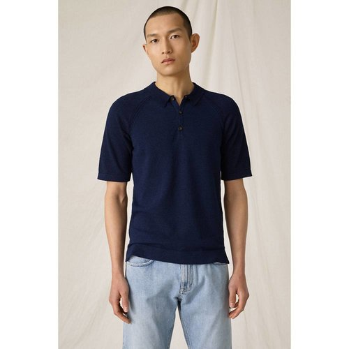 Closed Closed Men's Knit Dark Night Polo 919