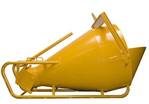 Kubel onderuitlaat 750-2000 liter liggend