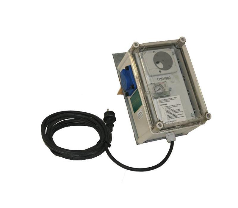 Tijdschakelkast HQI-verlichting
