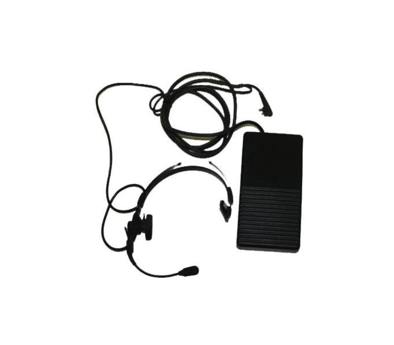 Headset t.b.v. portofoon