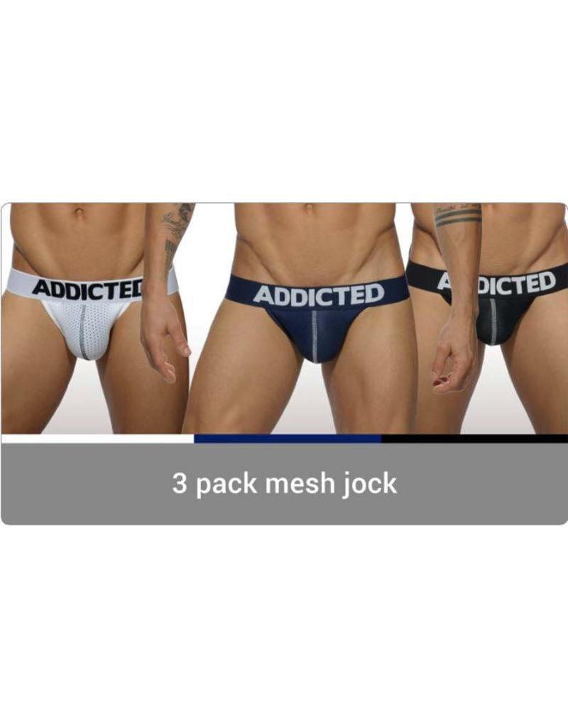 Addicted ADDICTED 3 Pack Mesh Jock Push up