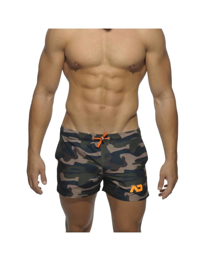 Addicted ADDICTED Camouflage Swimwear Short