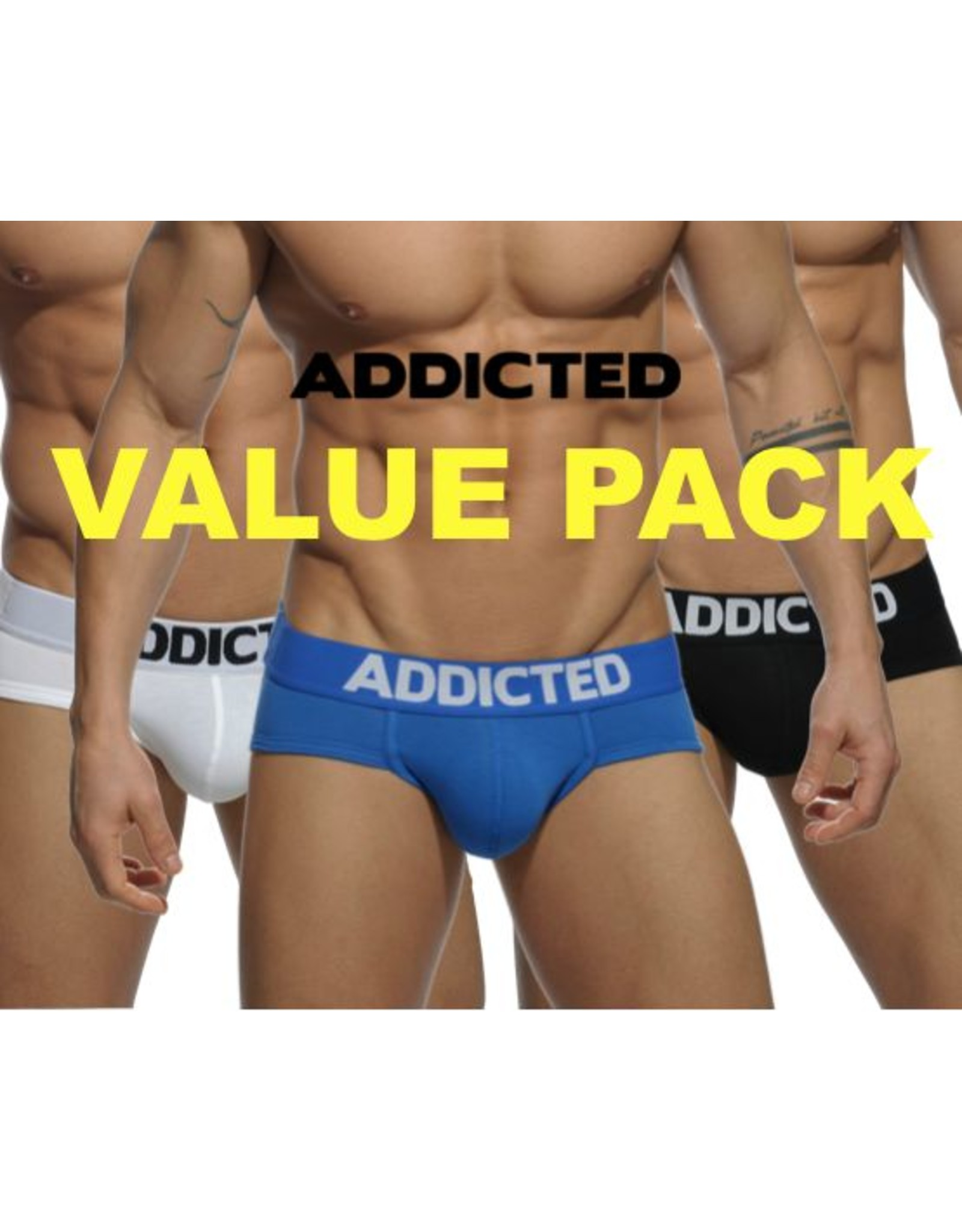 Addicted ADDICTED Three Pack Brief my Basic