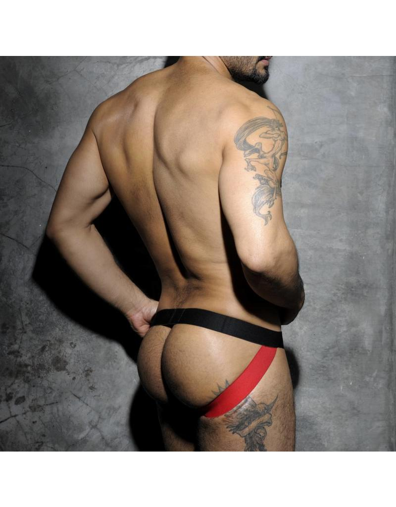 Addicted ADDICTED Fetish Stripe Jockstrap rot