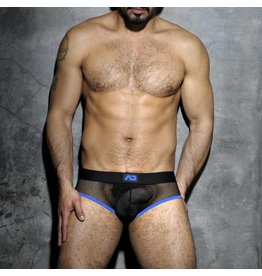 Addicted Addicted Fetish Mesh Brief blau