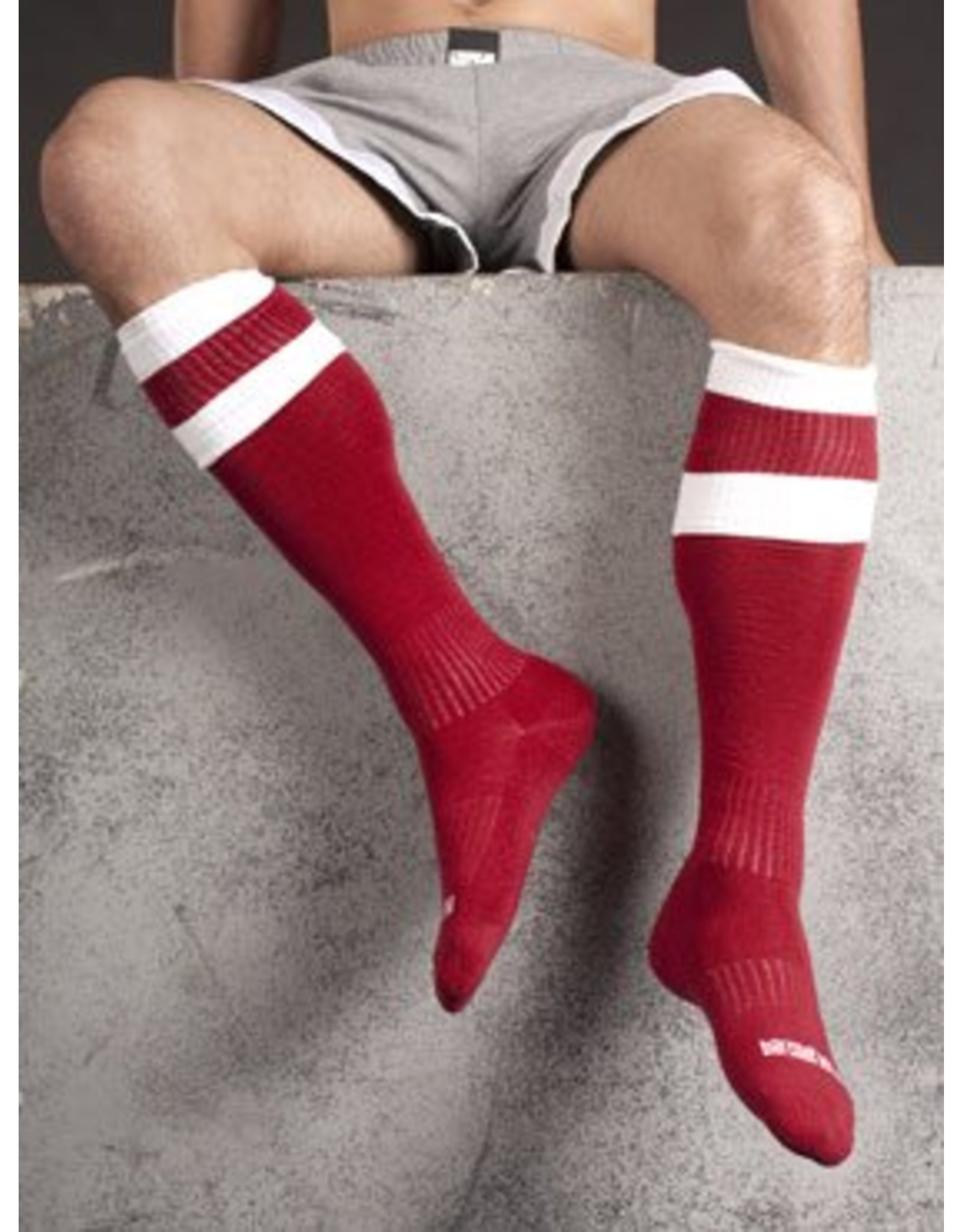 Barcode Berlin Barcode Berlin Football Socks rouge- blanc