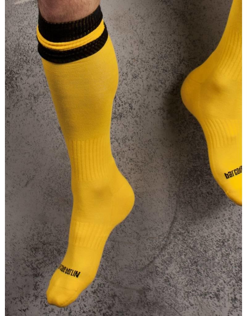 Barcode Berlin Barcode Berlin Football Socks gelb-schwarz