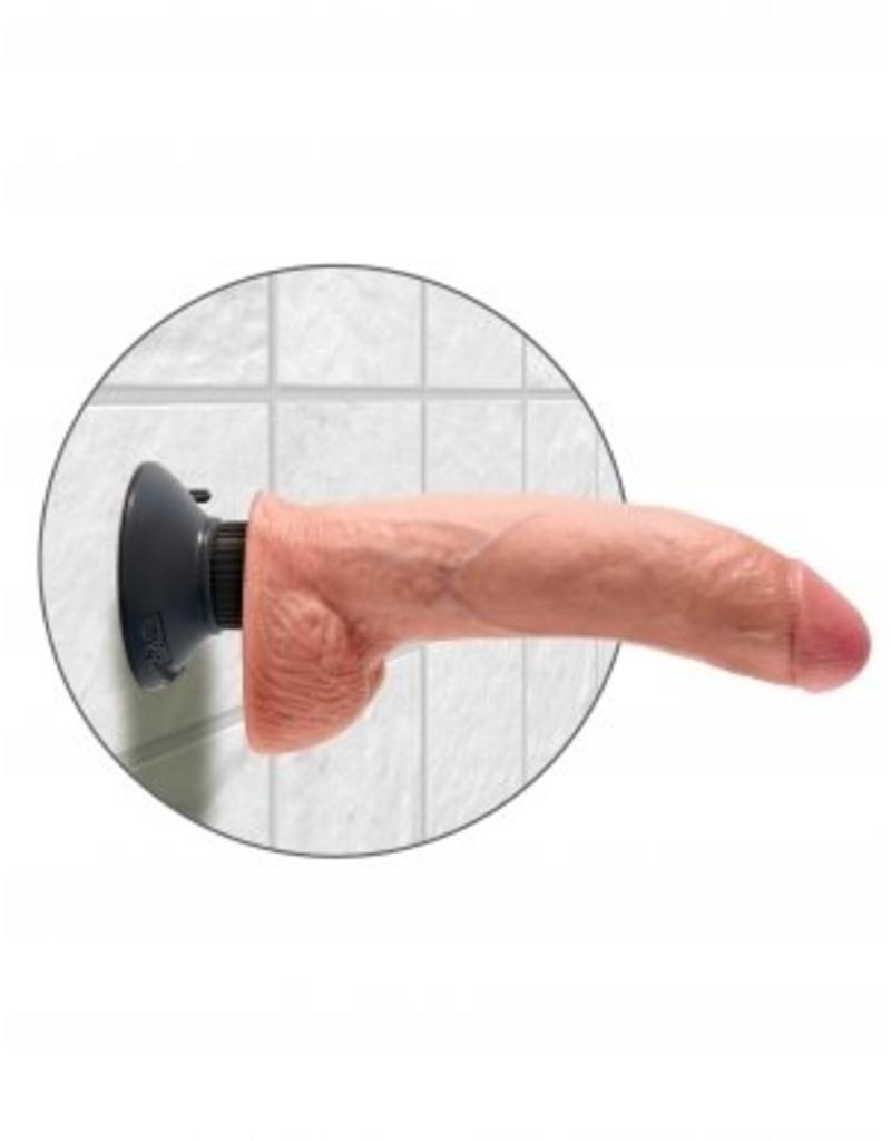 King Cock King Cock - 9 Inch Vibrator natur