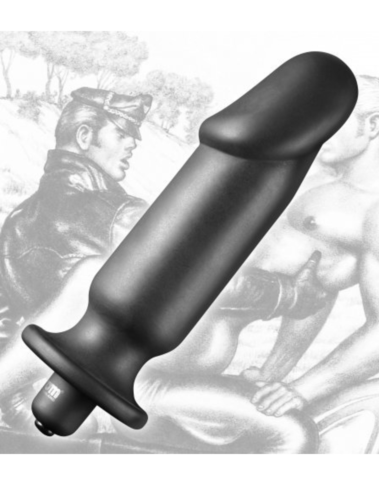 Tom of Finland Tom of Finland Single Speed Vibrating Plug - XL