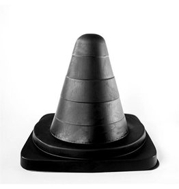 All Black Traffic Cone 19cm