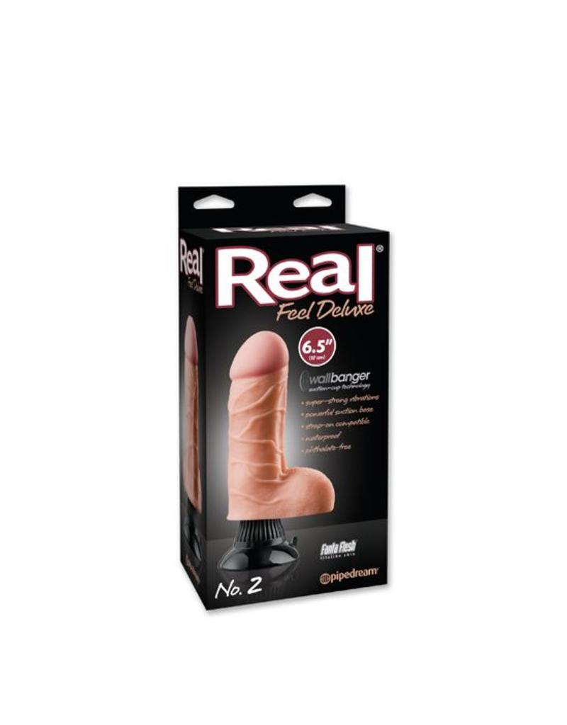 Real Feel DELUXE VIBRATOR No. 2 17cm