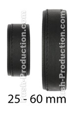 Push Xtreme Leather Knoxville Cock & Ball Velcro Strap Small